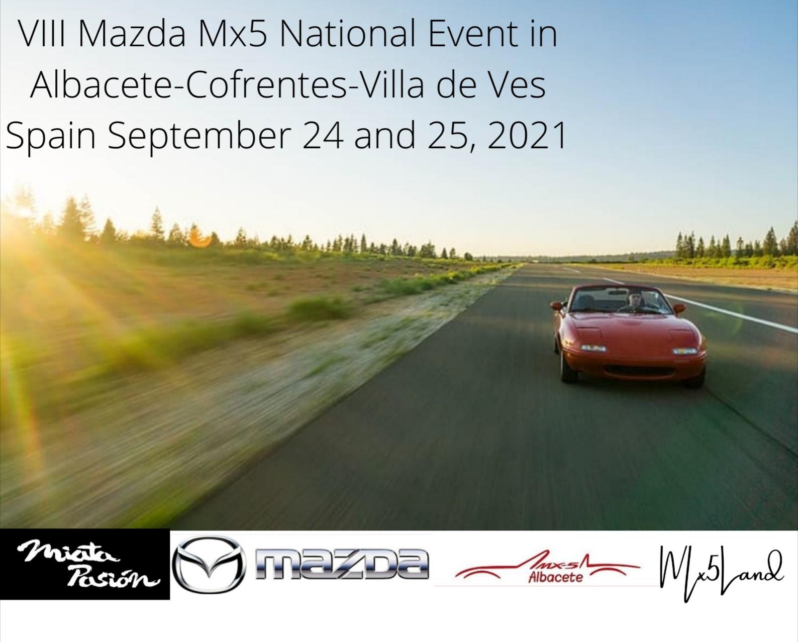 VIii Event Mazda Mx5 Albacete Spain 2021